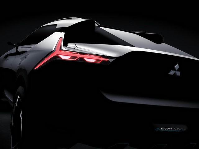 Mitsubishi e-Evolution: Tái sinh Lancer Evo dưới dạng SUV - 3