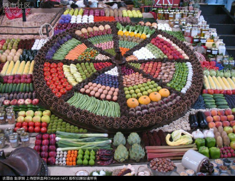 Ai cũng muốn đi tới chợ rau củ này vì nó đẹp như tranh nghệ thuật - 4