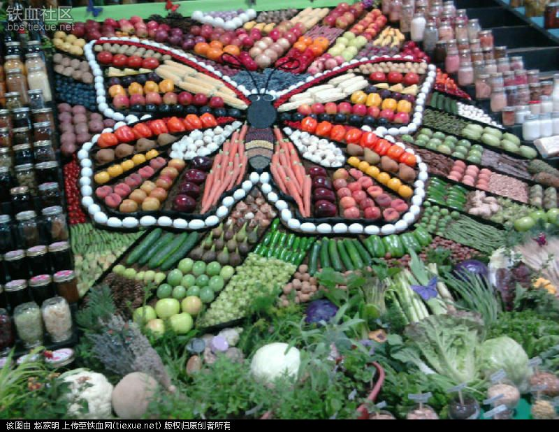 Ai cũng muốn đi tới chợ rau củ này vì nó đẹp như tranh nghệ thuật - 6