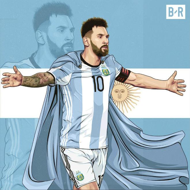 Argentina dự World Cup: Triệu fan khen Messi vĩ đại nhất lịch sử, chê Ronaldo vô dụng - 6
