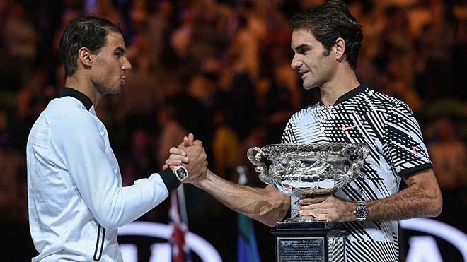"""Nadal - Federer thống trị tuyệt đối: """"Ngáo ộp"""" với các sao mai 2"""