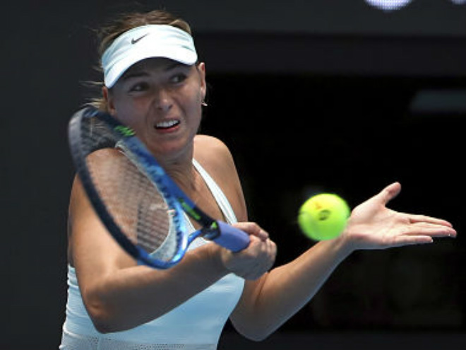 Sharapova - Begu: 4 break ngoạn mục, giật vé ngỡ ngàng (Vòng 1 Thiên Tân) 1
