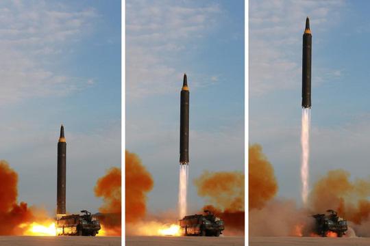 """Triều Tiên phóng """"mưa tên lửa"""" đón đại hội đảng của Trung Quốc? - 1"""