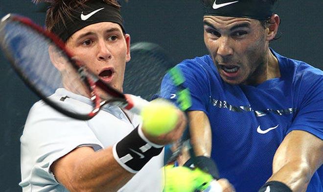 Nadal - Donaldson: Tối tăm mặt mũi 54 phút 1