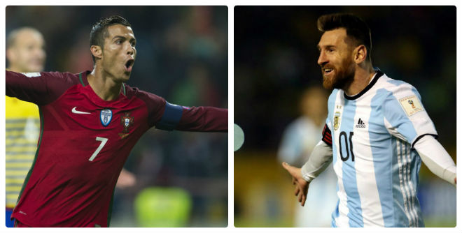 """Vòng loại World Cup: Đỉnh cao Ronaldo-Messi, Bale xuống """"vực thẳm"""" - 1"""