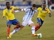 Ecuador - Argentina: Siêu sao lên đồng, giành vé đi thẳng
