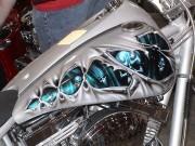 """Xe máy - Xe đạp - Sơn airbrush - nghệ thuật """"thổi hồn"""" cho xe máy"""