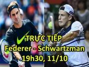 Chi tiết Federer - Schwartzman: Kết liễu đối thủ (KT)