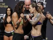 UFC: Chào võ đài, mỹ nữ dùng chiêu  mãng xà diệt độc ưng