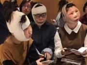 Ba cô gái mặt như quả bóng không thể trở về nhà sau khi phẫu thuật thẩm mỹ