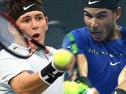 Nadal - Donaldson: Tối tăm mặt mũi 54 phút