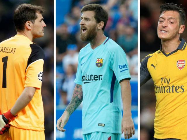 """Messi, Sanchez và đội hình toàn sao """"thất nghiệp"""" hè 2018"""