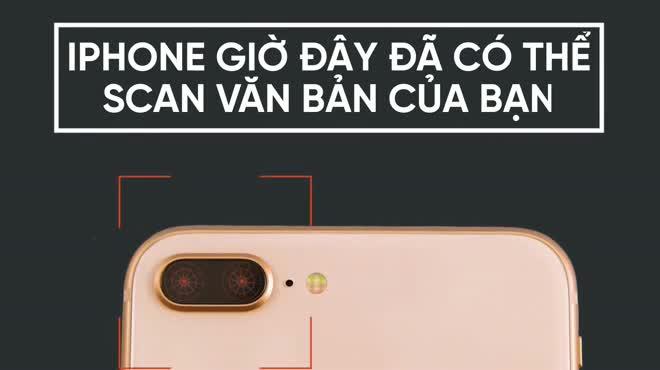 Biến iPhone thành máy scan tài liệu cực đơn giản