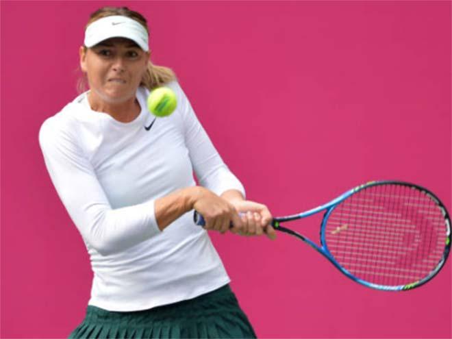 Sharapova - Linette: 99 phút lãng phí 10 cơ hội (Vòng 2 Thiên Tân) 1