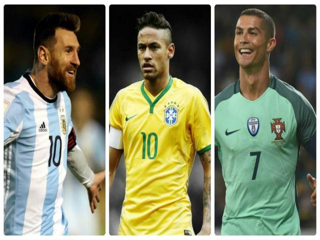 Neymar thách thức Messi-Ronaldo, hẹn tranh QBV ở World Cup