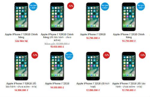 iPhone 7, iPhone 8 tiếp tục giảm cả triệu đồng - ảnh 2