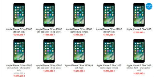 iPhone 7, iPhone 8 tiếp tục giảm cả triệu đồng - ảnh 3