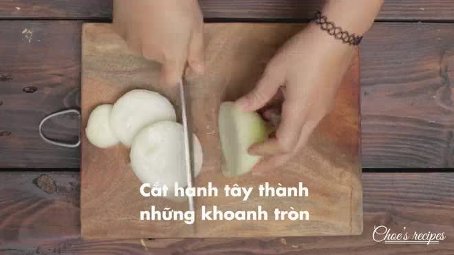 Hành tây tẩm bột chiên giòn ngon, lạ miệng
