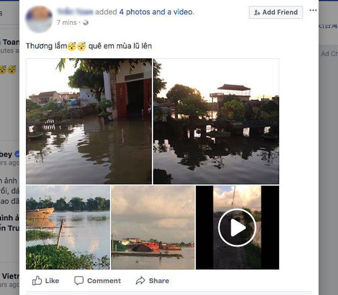 """Dân mạng chia sẻ """"rần rần"""" ảnh mưa lũ kinh hoàng làm hàng chục người chết - 1"""