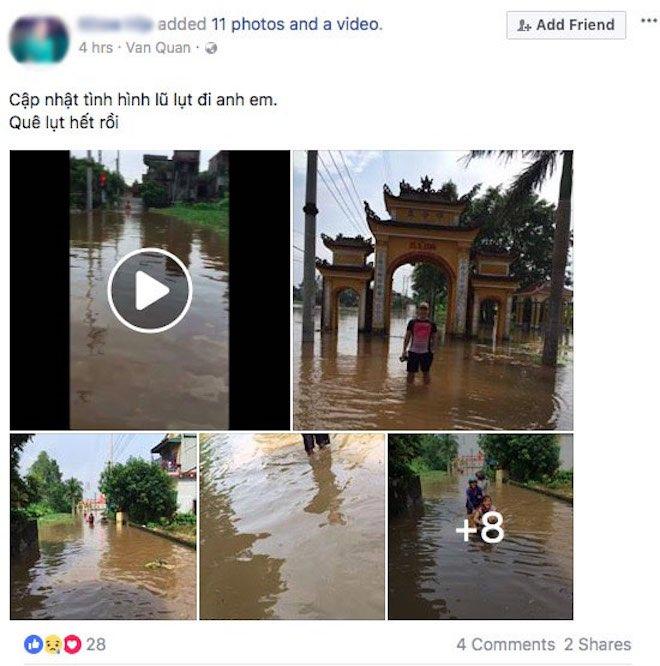 """Dân mạng chia sẻ """"rần rần"""" ảnh mưa lũ kinh hoàng làm hàng chục người chết - 8"""