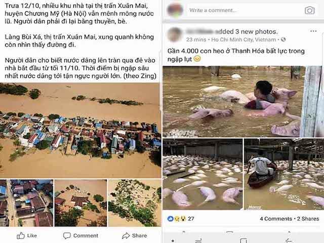 """Dân mạng """"rần rần"""" đăng ảnh bão kinh hoàng ở Nha Trang - 10"""
