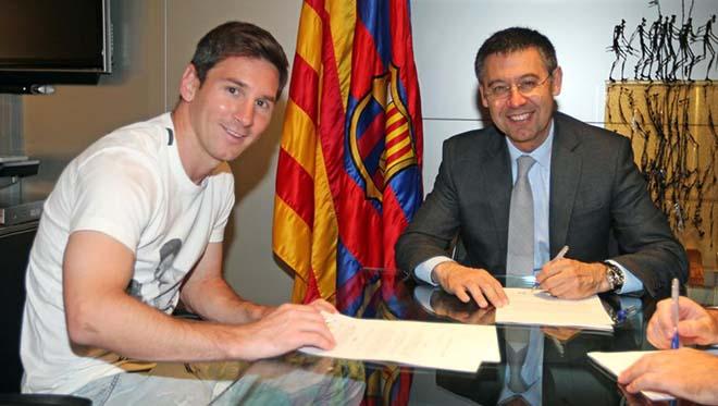 """Barcelona """"bán"""" sân Nou Camp, trả lương khủng giữ chân """"độc tài"""" Messi - 1"""