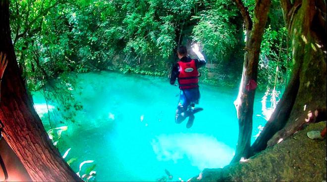 Dạo chơi thác nước đẹp như tiên cảnh ở Philippines - ảnh 8