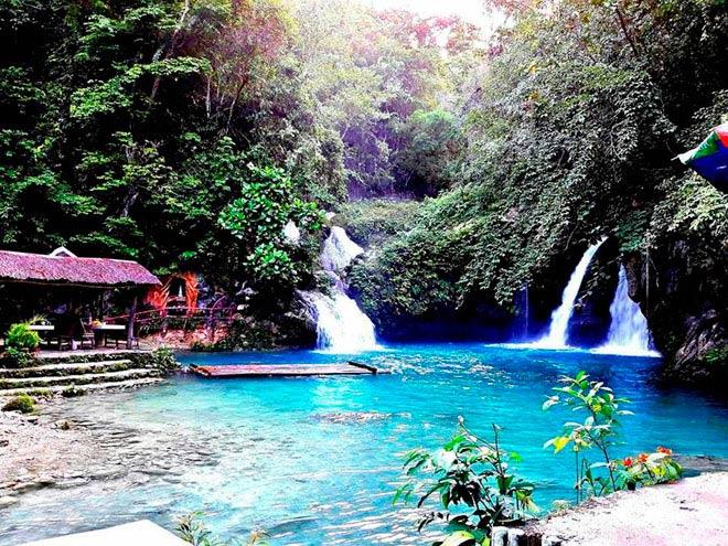 Dạo chơi thác nước đẹp như tiên cảnh ở Philippines - ảnh 7