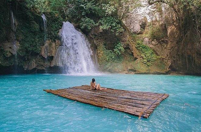 Dạo chơi thác nước đẹp như tiên cảnh ở Philippines - ảnh 6