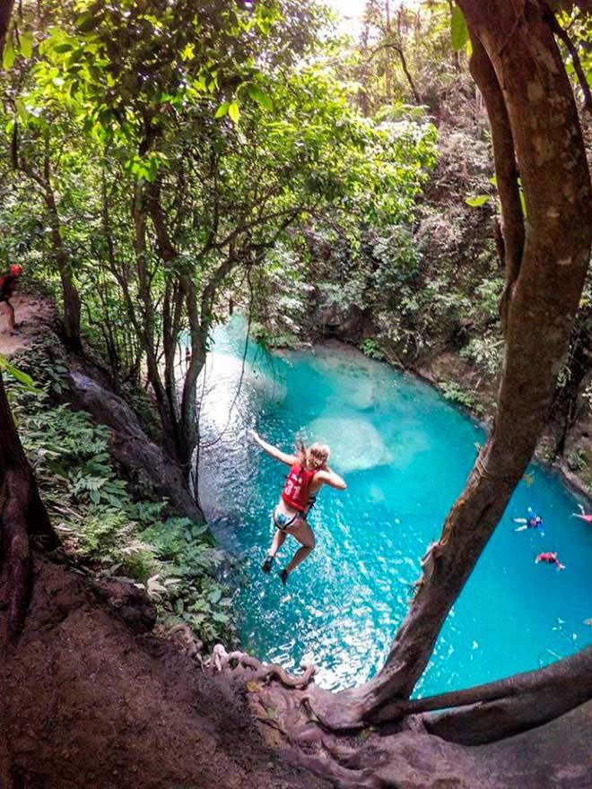 Dạo chơi thác nước đẹp như tiên cảnh ở Philippines - ảnh 9
