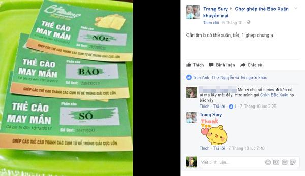 Ghép chữ trúng vàng: Trào lưu đang hot trên mạng xã hội - ảnh 1
