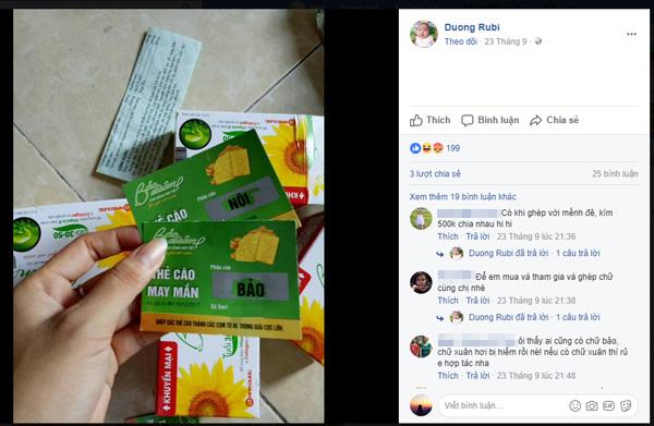 Ghép chữ trúng vàng: Trào lưu đang hot trên mạng xã hội - ảnh 3