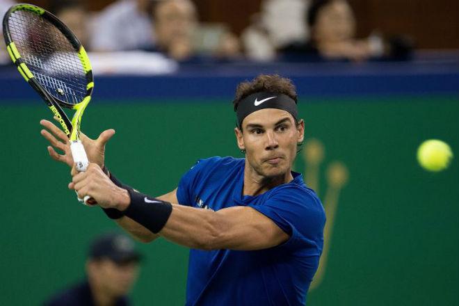 """Trực tiếp tennis Thượng Hải Masters 12/10: Federer gặp """"thần tài"""", thử thách đợi Nadal 1"""
