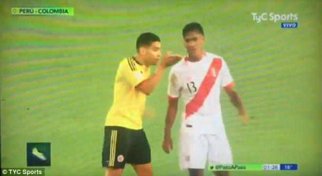 """""""Vết nhơ"""" World Cup: Falcao thừa nhận gạ """"dàn xếp"""", Mỹ tức tưởi bàn thắng ma - 4"""