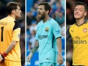Messi, Sanchez và đội hình toàn sao  thất nghiệp  hè 2018