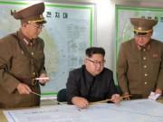 """Triều Tiên dọa dùng  """" mưa lửa """"  để đáp trả ông Trump"""