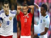 """Siêu đội hình nửa tỷ euro lỗi hẹn World Cup: Bale  """" bắt cặp """"  SAO MU"""