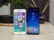 Thời trang Hi-tech - So sánh iPhone 8 với Galaxy S8: Cuộc đua không cân sức