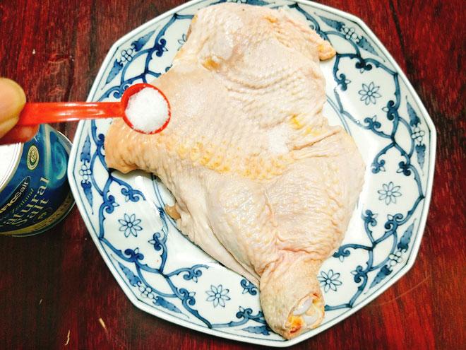 Thịt gà hấp mỡ hành mềm ngọt, béo ngậy ngon không cưỡng nổi - 3