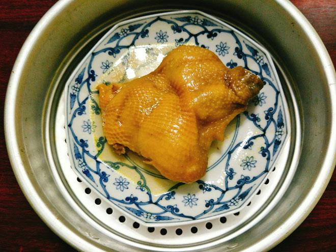 Thịt gà hấp mỡ hành mềm ngọt, béo ngậy ngon không cưỡng nổi - 6