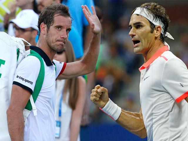 Clip hot tennis: Federer - Del Potro tạo siêu phẩm, khán giả hết vỗ tay lại ôm đầu 1