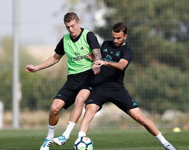 """Real: Benzema trở lại phục vụ, Ronaldo """"tập bắn"""" điên cuồng - 5"""