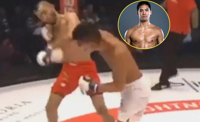 """Vang dội MMA: Võ sỹ gốc Việt 1 đấm hạ """"Người ngoài hành tinh"""" 1"""