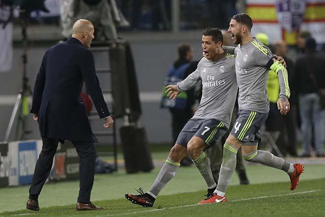 """Zidane đón cột mốc 100: Ronaldo quyết """"làm gỏi"""" Getafe, tri ân thầy - 2"""