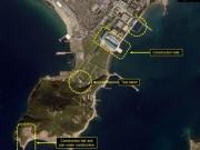 Hoạt động bất thường ở khu tàu ngầm tên lửa đạn đạo Triều Tiên