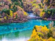 Đã từng có một Cửu Trại Câu đẹp tựa xứ thần tiên trước khi bị động đất tàn phá