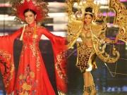 Quốc phục như bikini áp đảo hoàn toàn tại Hoa hậu Hòa bình