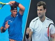 Thể thao - Nadal - Dimitrov: 3 set đỉnh cao, đòn đau choáng váng (Tứ kết Thượng Hải Master)