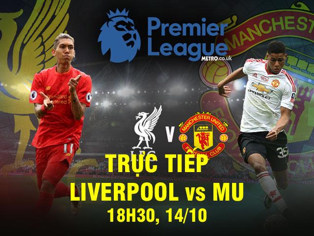 """Liverpool - MU: Dội bão tố lên """"Quỷ Đỏ"""" (Vòng 8 Ngoại hạng Anh) 2"""