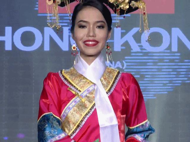Nhan sắc Hong Kong bị chê thậm tệ tại Hoa hậu Hòa Bình 2017 là ai?